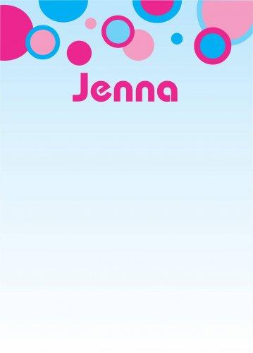 Bubbles pink & blue