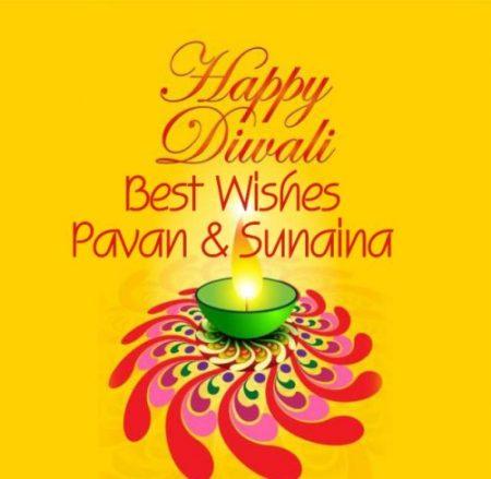 Diwali yellow