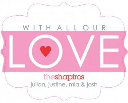 Wavy love shapie