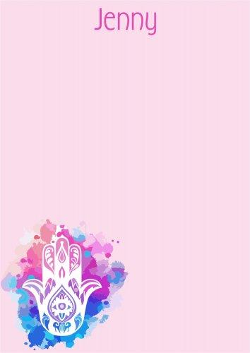 Yad on pink