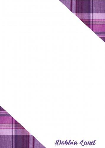 Purple corners