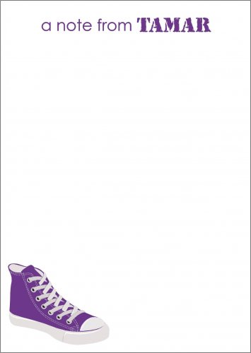 High top purple