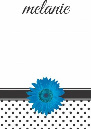 Gerbera blue