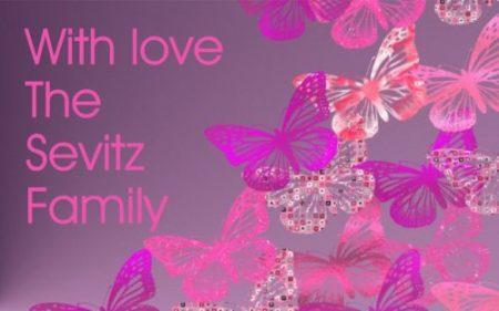 Butterflies pinks