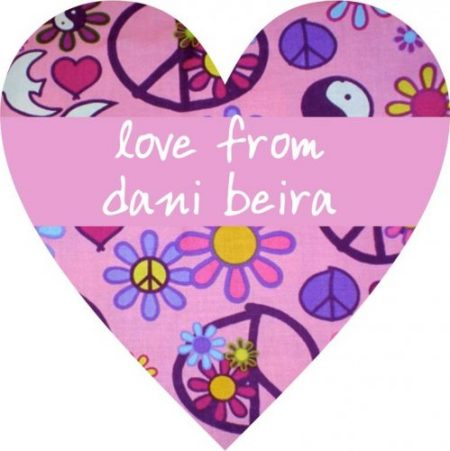 Peace dove heart pink