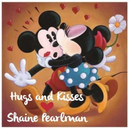Minnie hugs n kisses