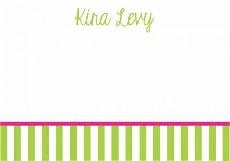 Stripes bottom lime