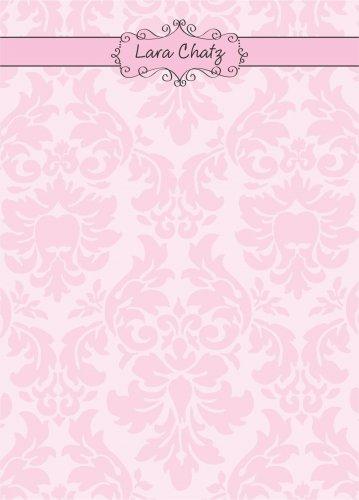 Frame on damasc pink