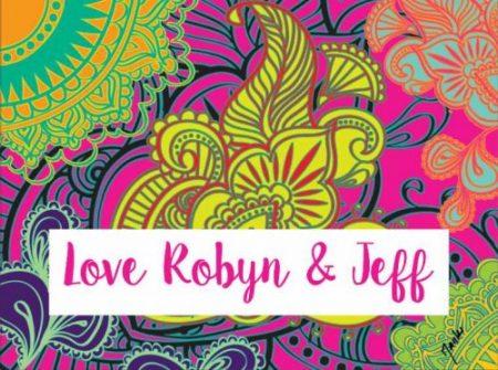 Patterned Robyn & Jeff