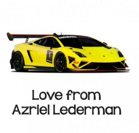 Sports car yellow
