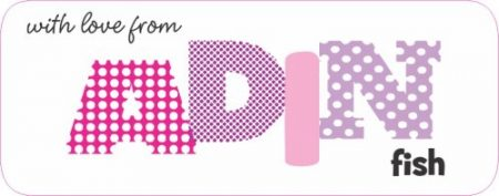 Fun font patterned pinks