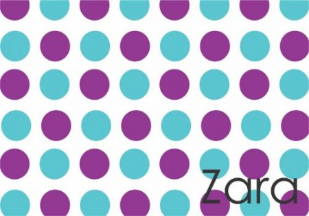 Dots purple & blue
