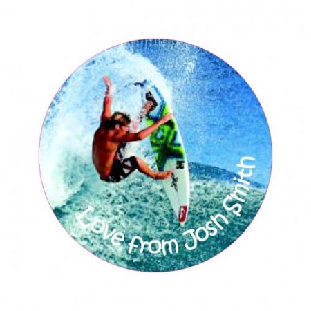 Surfer round