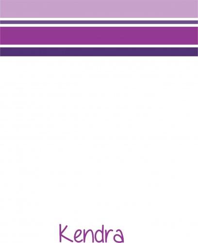 Stripes purples