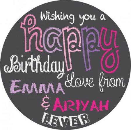 Happy birthday pinks