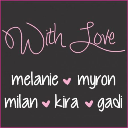 With love square pink
