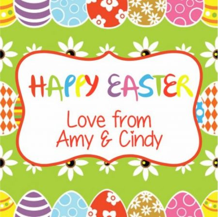 Easter eggs n daisies