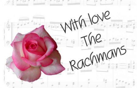 Rose pink music notes