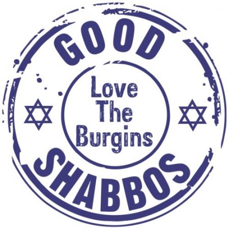 Shabbos Logo blue