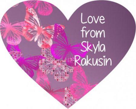 Butterflies pinks heart