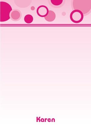Bubbles pink