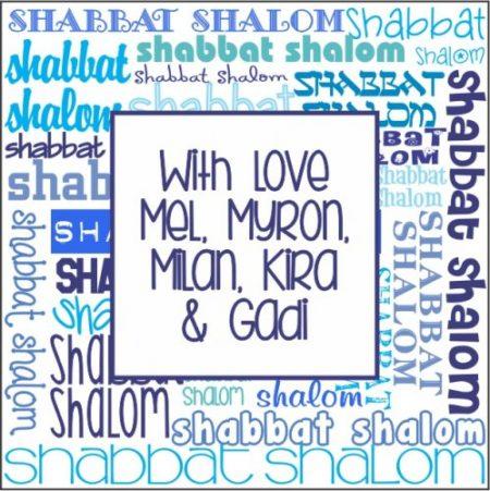 Shabbat Shaloms