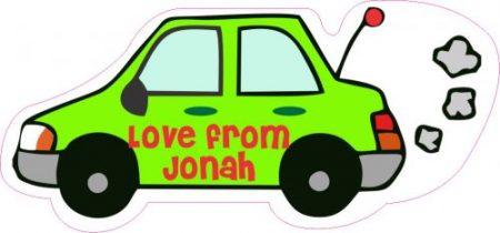 Car shapie green