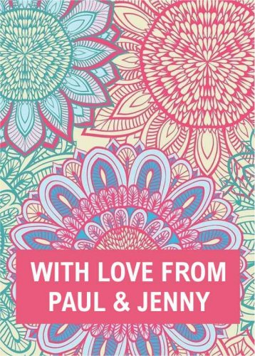 Patterned Paul & Jenny