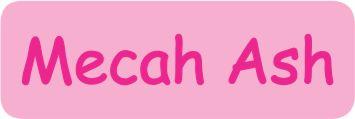 Pink cerise text