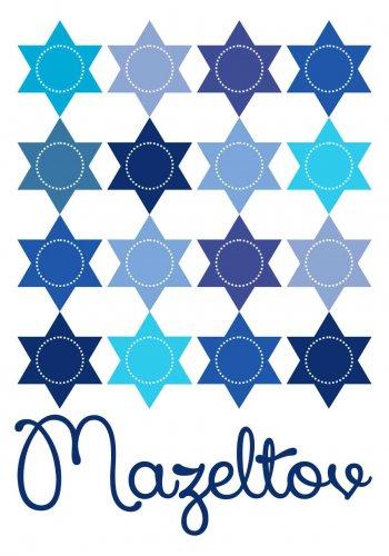 mazeltov Rows of Stars blues