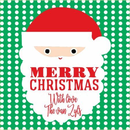 Santa on Dots