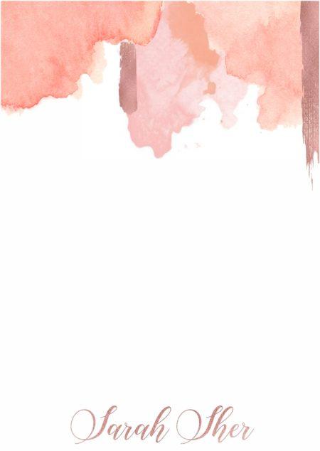 Watercolour Blush Top