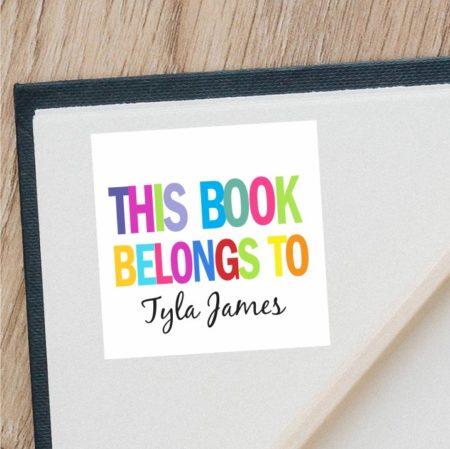 Book Belongs To