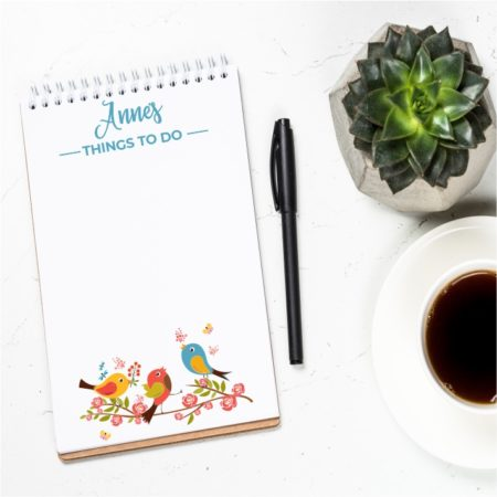 Personalised Skinny Notepads